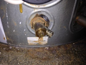 Pulsacoil 3 Drain Off Leaking Connection To Cylinder Leaking.