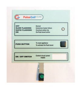 Gledhill Pulsacoil A Class Spares Front Panel Display