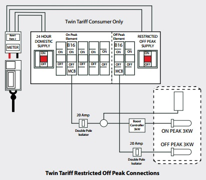 Twin Tariff Restricted Off Peak Connections pulsacoil stainless pulsacoil pcs the pulsacoil replacement vedhas wiring diagram for economy 10 meter at fashall.co